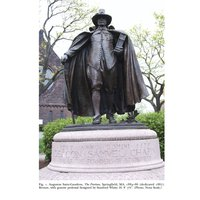 2012 Augustus Saint-Gaudens ThePuritan Founders Statues Indian Wars Contested Public Spaces and Angers Memory in Springfield Massachusetts